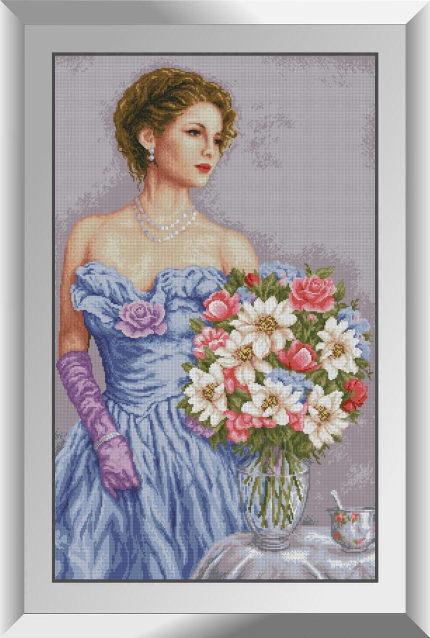31536 Приглашение к чаю Набор алмазной живописи