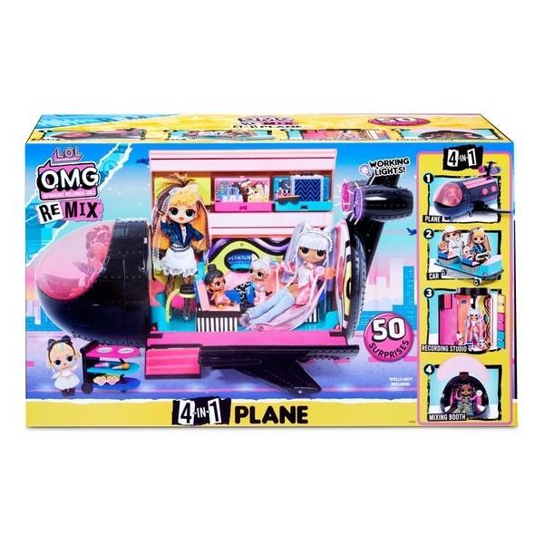 L.o.l. surprise! s4 Самолет ремикс 571339 3 in 1 Remix Plane