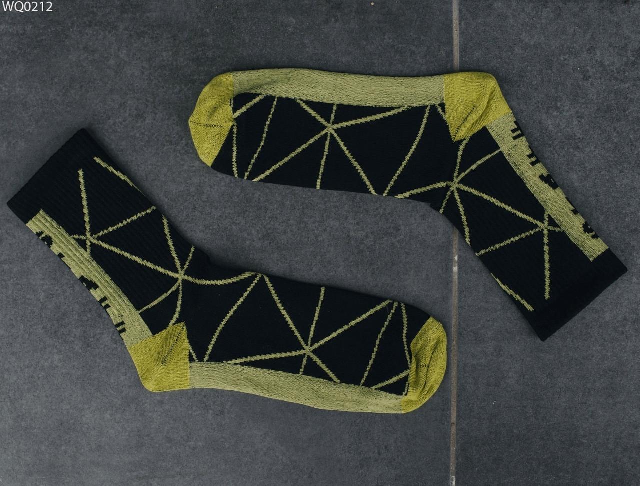 Носки Staff black & yellow