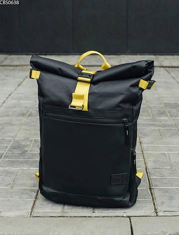 Рюкзак Staff roll black & yellow, фото 2