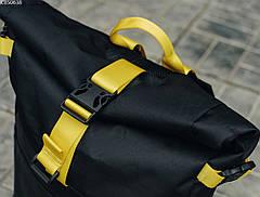 Рюкзак Staff roll black & yellow, фото 3
