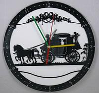 Настенные часы из виниловых пластинок Свадебное путешествие
