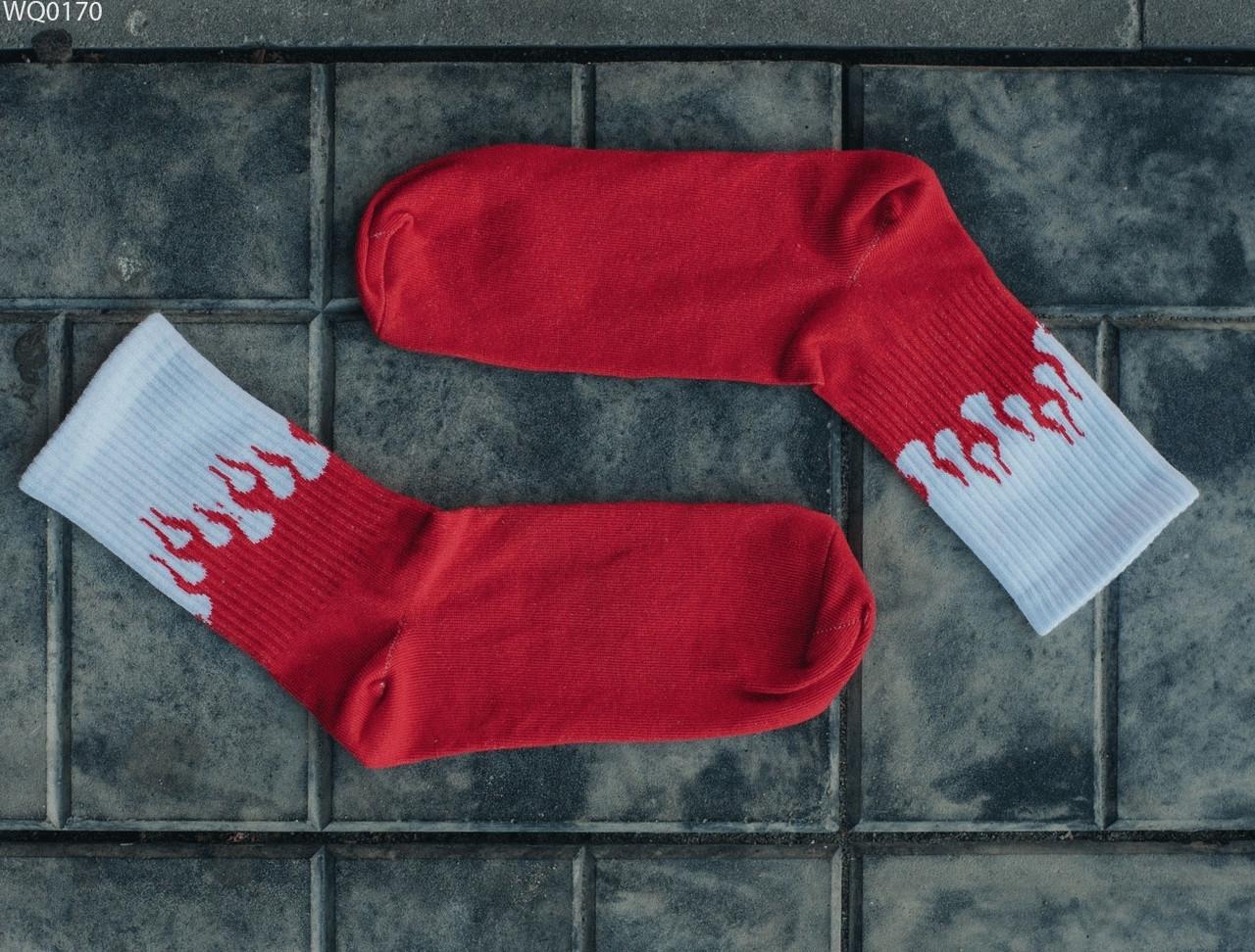 Носки Staff red & white