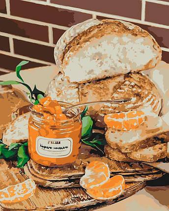 KH5572 Картина-раскраска Мандариновый привкус, Без коробки, фото 2