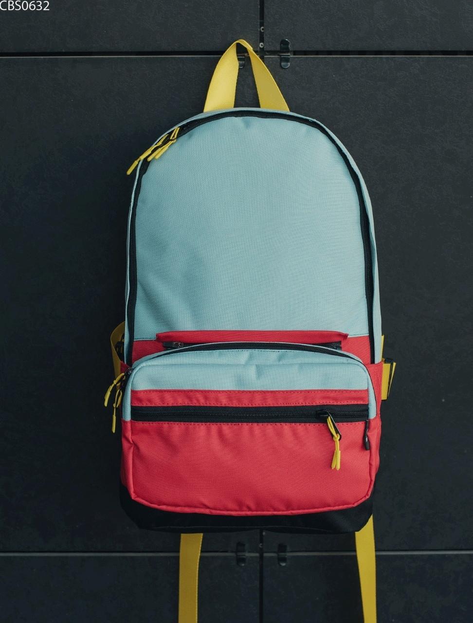 Рюкзак 23L + поясная сумка Staff red & mint