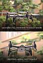Топ Квадрокоптер S165 дрон с WiFi FPV 2 камеры 17 минут полета, фото 7