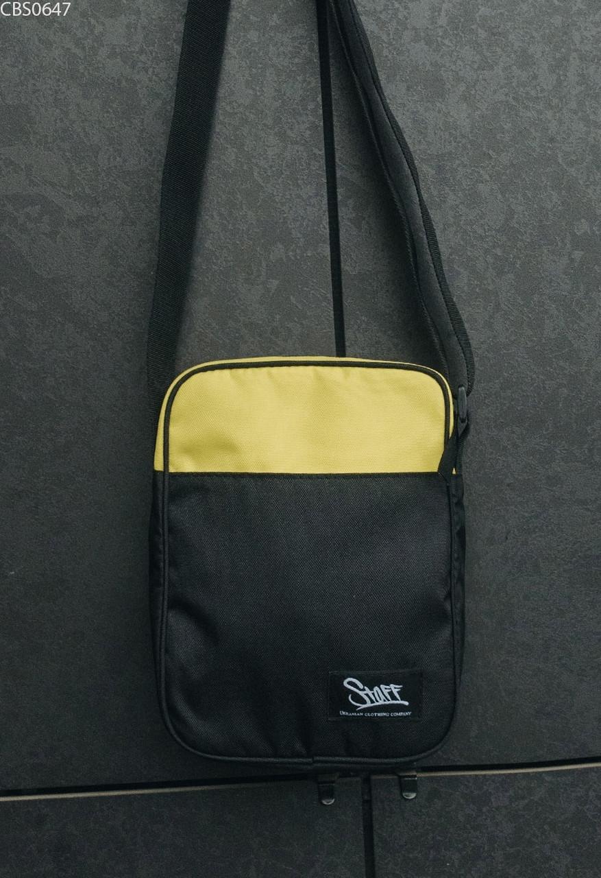 Сумка через плечо Staff yellow & black
