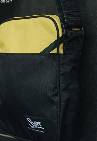 Сумка через плечо Staff yellow & black, фото 2