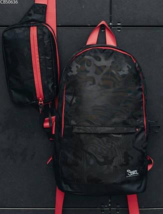 Рюкзак 23L + поясная сумка Staff black camo, фото 2