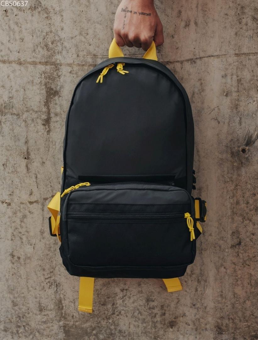 Рюкзак 23L + поясная сумка Staff black reflective