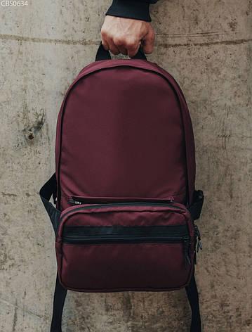 Рюкзак 23L + поясная сумка Staff bordo, фото 2