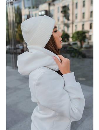 Женская шапка Staff white, фото 2