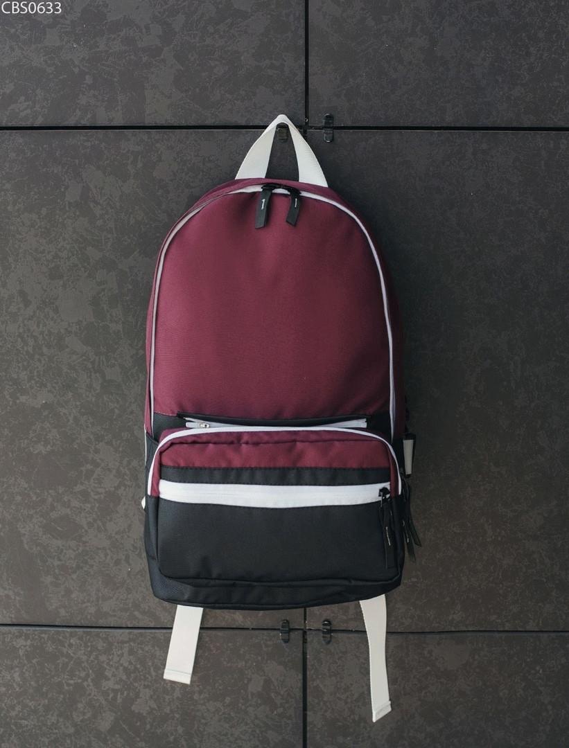 Рюкзак 23L + поясная сумка Staff bordo & black