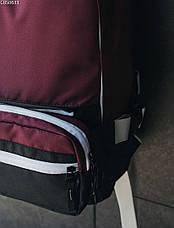 Рюкзак 23L + поясная сумка Staff bordo & black, фото 3