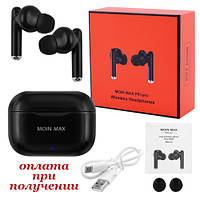 Бездротові Bluetooth навушники вакуумні TWS P91 Pro Moin Max Apple Xiaomi Huawei Samsung JBL Dr.Dre Bose, фото 1