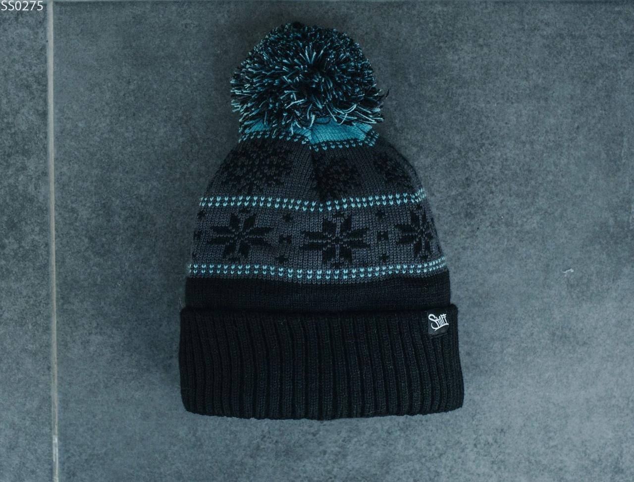 Шапка Staff black & blue