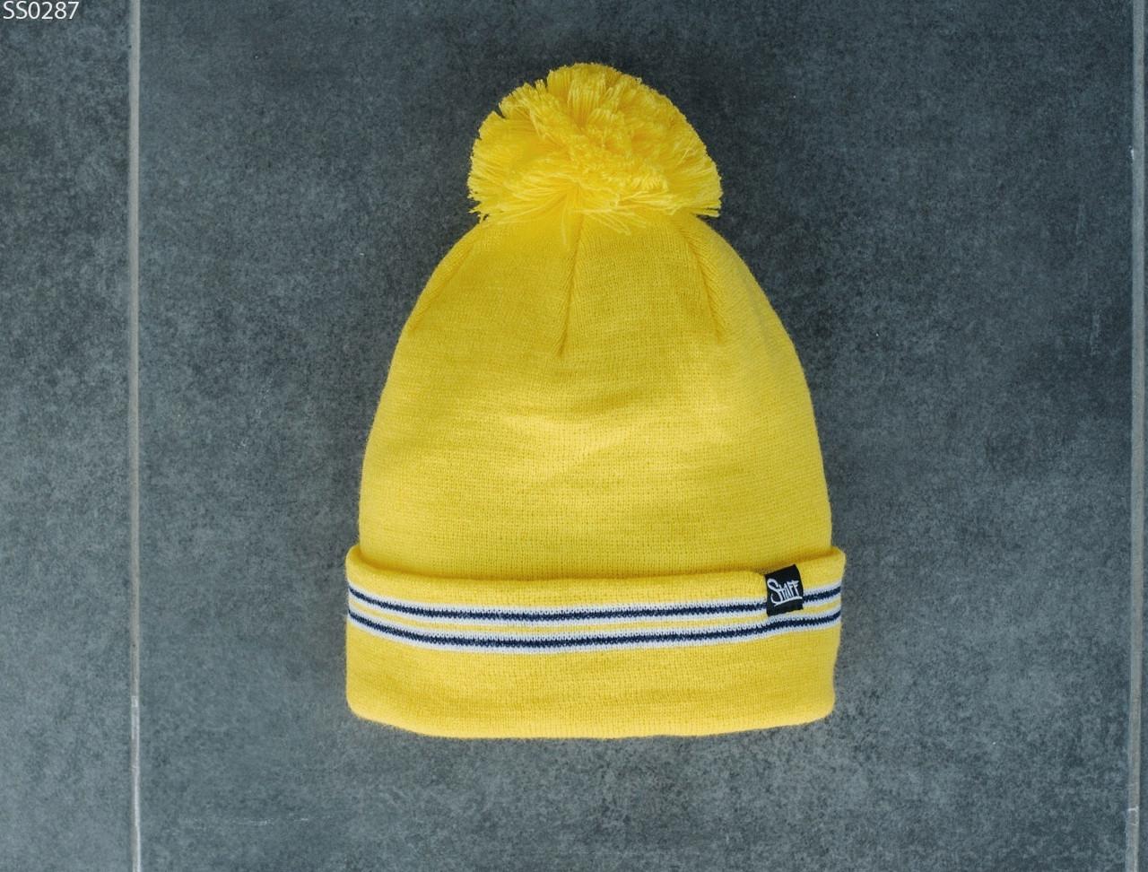 Шапка Staff yellow