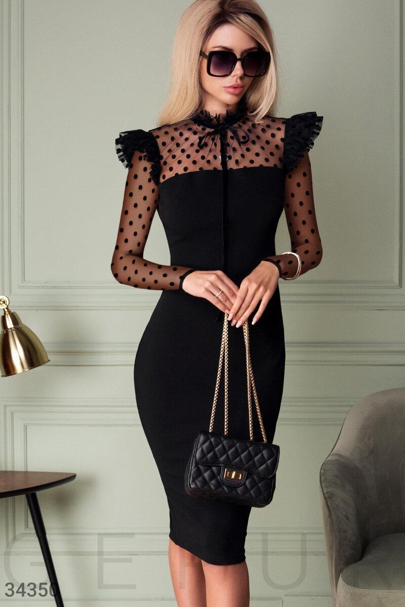 Женственное приталенное Платье женское