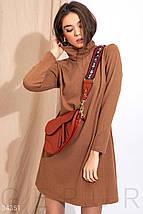Трикотажное базовое Платье женское, фото 2