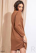Трикотажное базовое Платье женское, фото 3