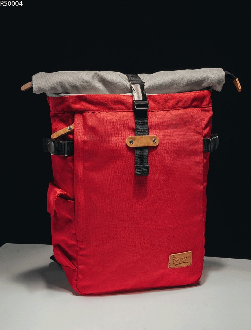 Рюкзак Staff red & gray