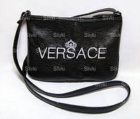 """СУМОЧКА """"МINI"""" - №237 """"Versace"""" -черная, фото 1"""