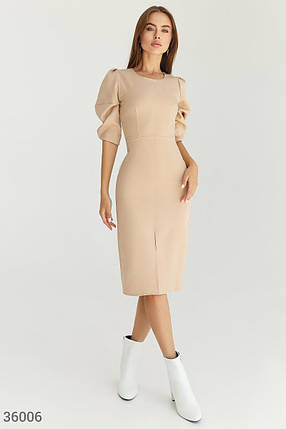 Лаконичное Платье женское-футляр, фото 2