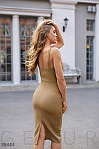 Стильное Платье женское на бретелях, фото 3