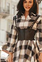 Повседневное Платье женское-рубашка, фото 3