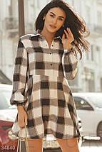 Повседневное Платье женское-рубашка, фото 2