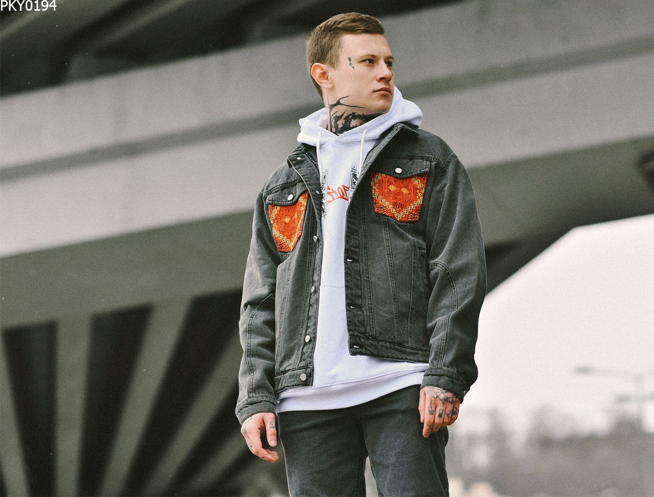 Джинсовая куртка Staff c2 ukr drop