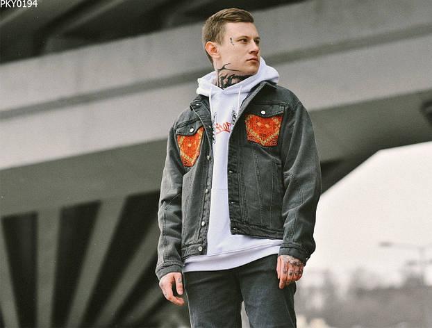 Джинсовая куртка Staff c2 ukr drop, фото 2