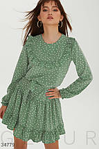 Платье женское мятного оттенка, фото 2