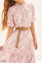 Платье женское нежно-пудрового цвета, фото 3