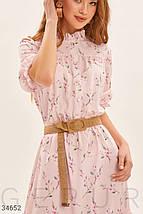 Платье женское нежно-пудрового цвета, фото 2