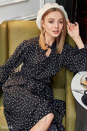 Платье женское в мелкий горошек, фото 2