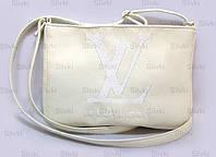"СУМОЧКА ""МINI"" - №236 ""Louis Vuitton"" - белая, фото 1"