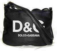 """СУМОЧКА """"МINI"""" - №235 """"Dolce&Gabbana"""" - черная, фото 1"""
