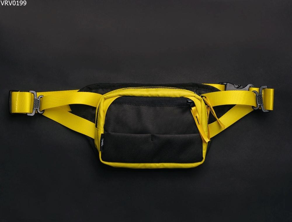 Поясная сумка Staff tops black & yellow
