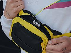 Поясная сумка Staff tops black & yellow, фото 2