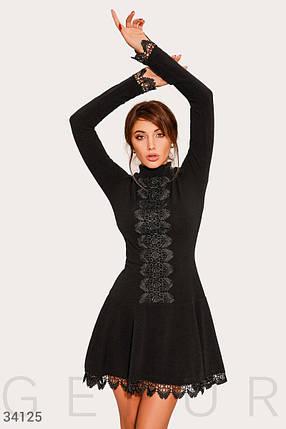 Платье женское с кружевным декором, фото 2