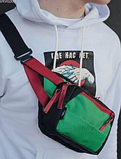 Поясна сумка Staff tops black & green, фото 3
