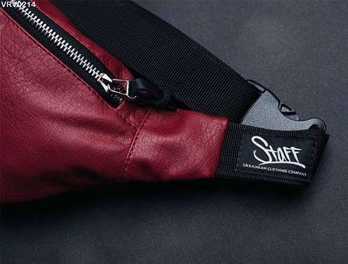 Поясная сумка Staff bordo, фото 2