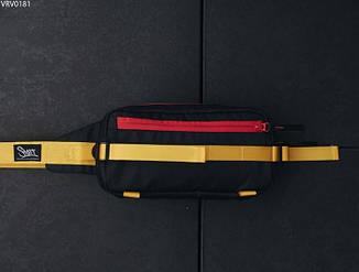 Поясная сумка Staff Square black & yellow2, фото 2