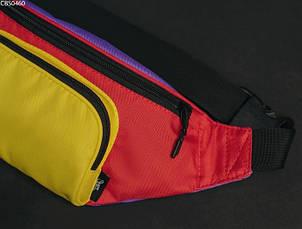Поясная сумка Staff violet yellow red, фото 2