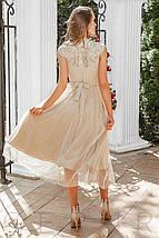 Приталенное вечернее Платье женское, фото 3