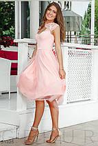 Платье женское с кружевной отделкой, фото 3