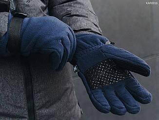 Перчатки Staff fleece navy size S-M, фото 2