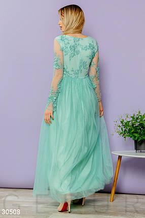 Платье женское-макси с вышивкой, фото 2