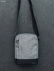 Сумка через плечо Staff gray melange